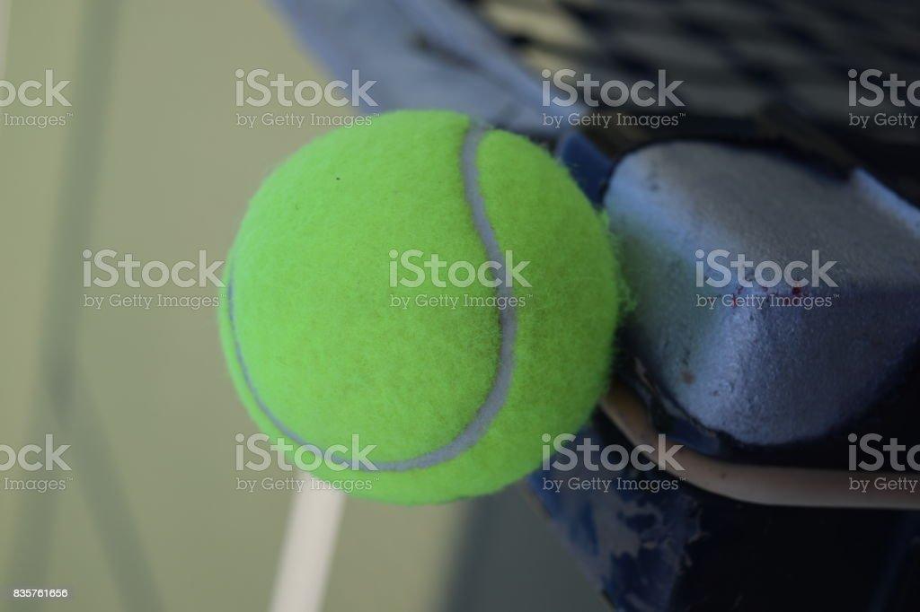 Still Tennis Ball stock photo