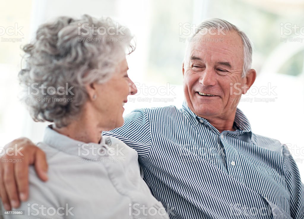 Still together after all these years... stock photo