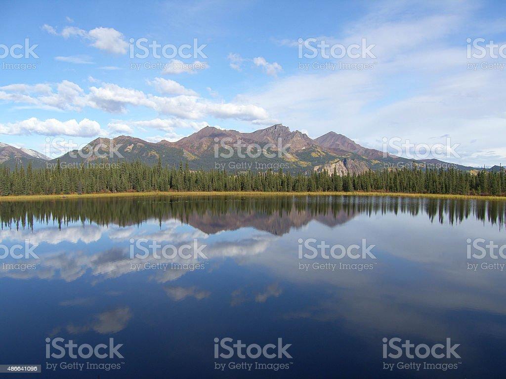 Still water stock photo