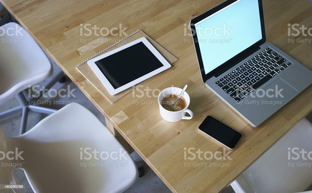 still-life on table of a businessman royalty-free stock photo