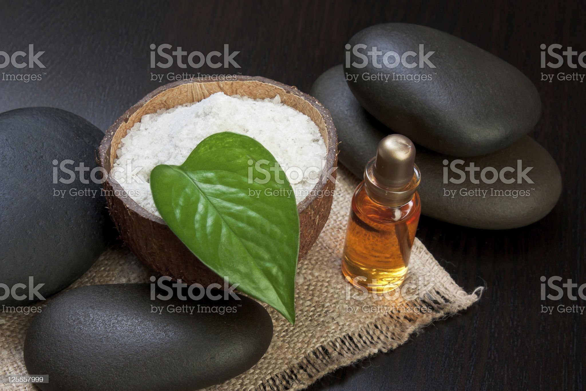 still-life subjects of relaxing spa royalty-free stock photo