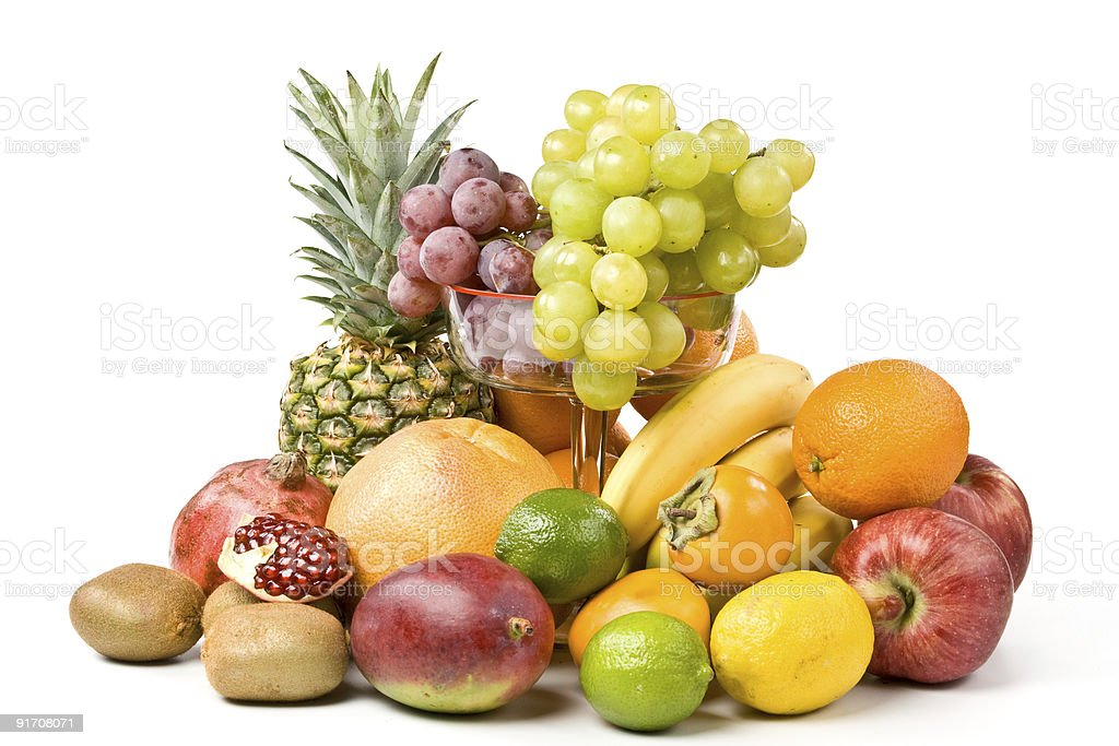 Still-life with fruits royalty-free stock photo