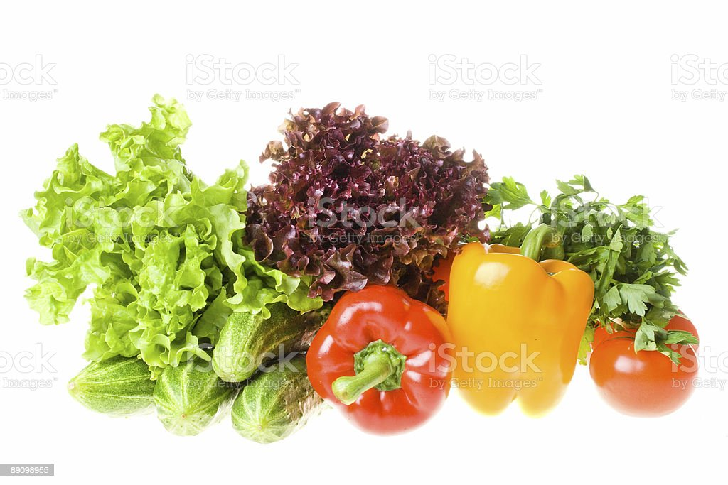 Still-life with vegetables royalty-free stock photo
