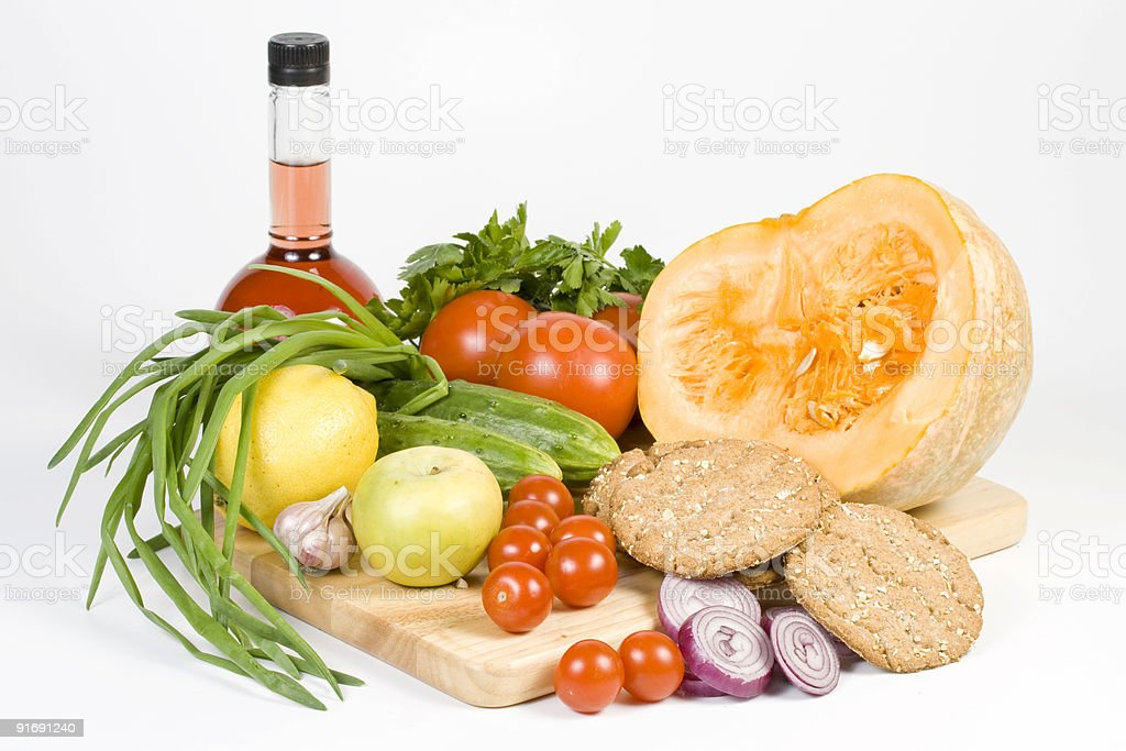Still-life with vegetables. royalty-free stock photo