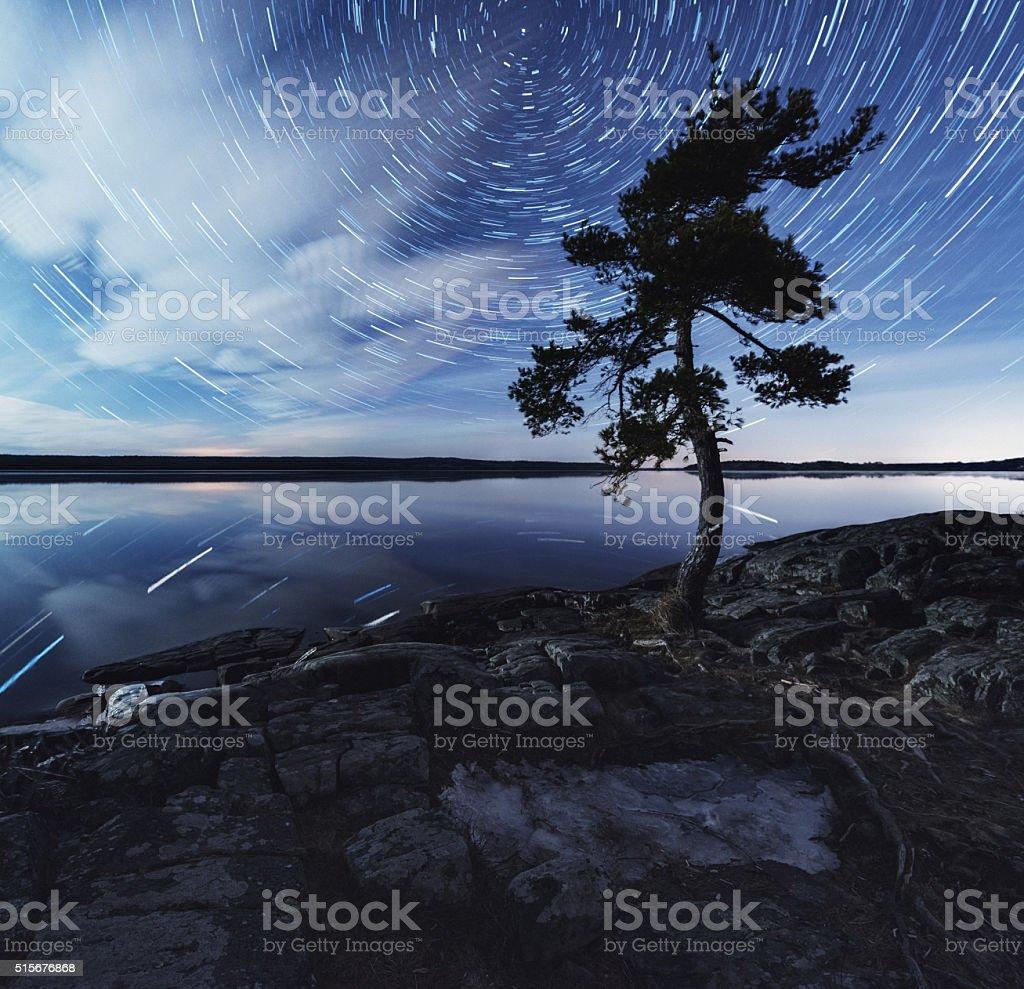 Stillness of Night stock photo