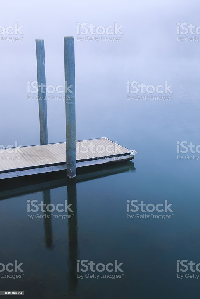 Stillness of the Morning stock photo