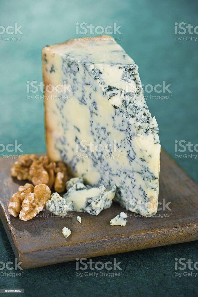 Stilton Cheese stock photo