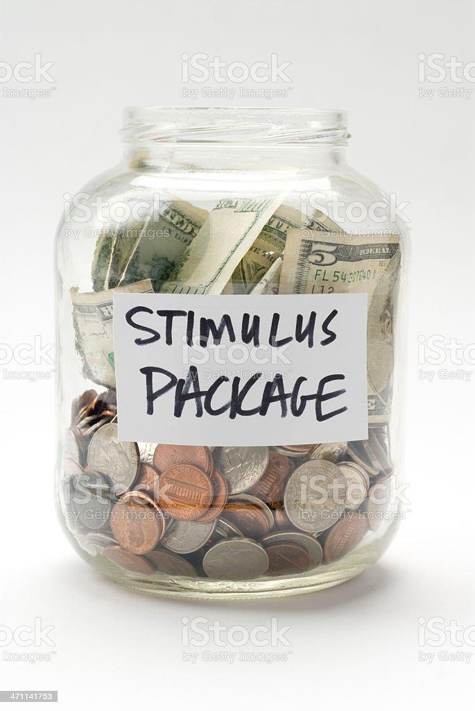 stimulus package stock photo