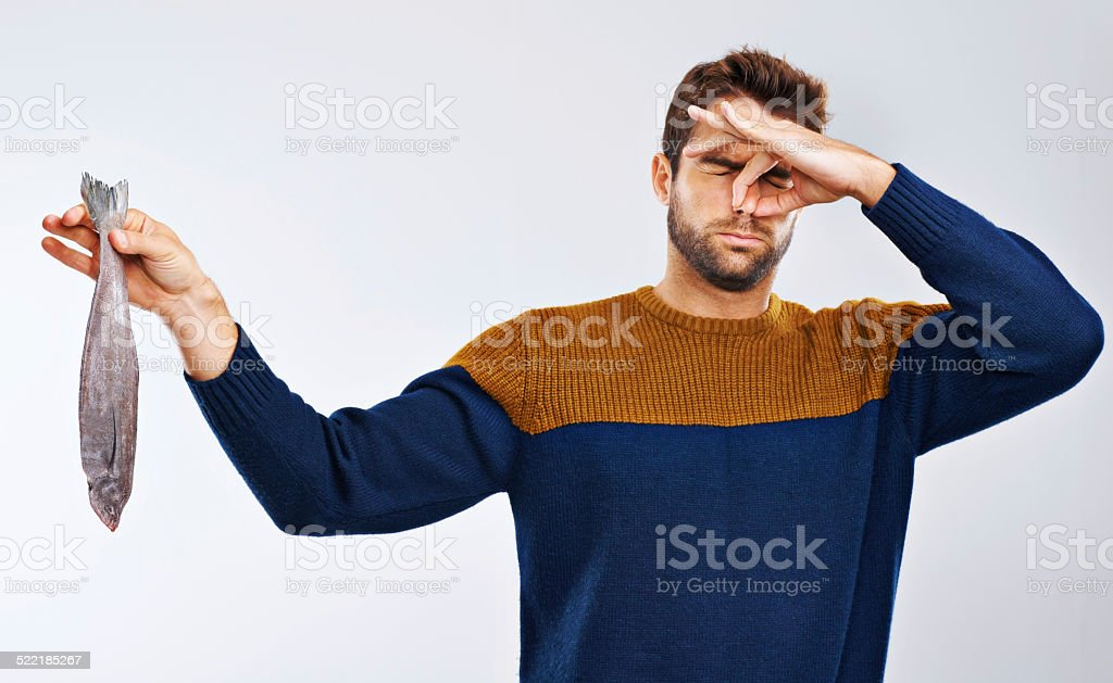 Stings the nostrils....yuck! stock photo