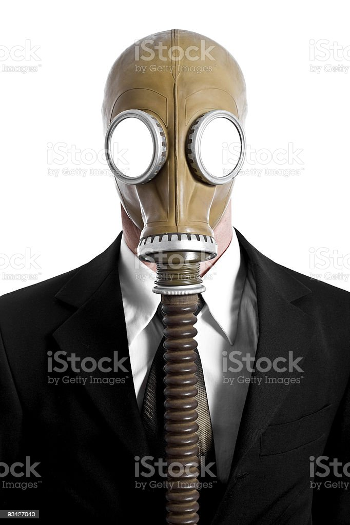 stinky business stock photo