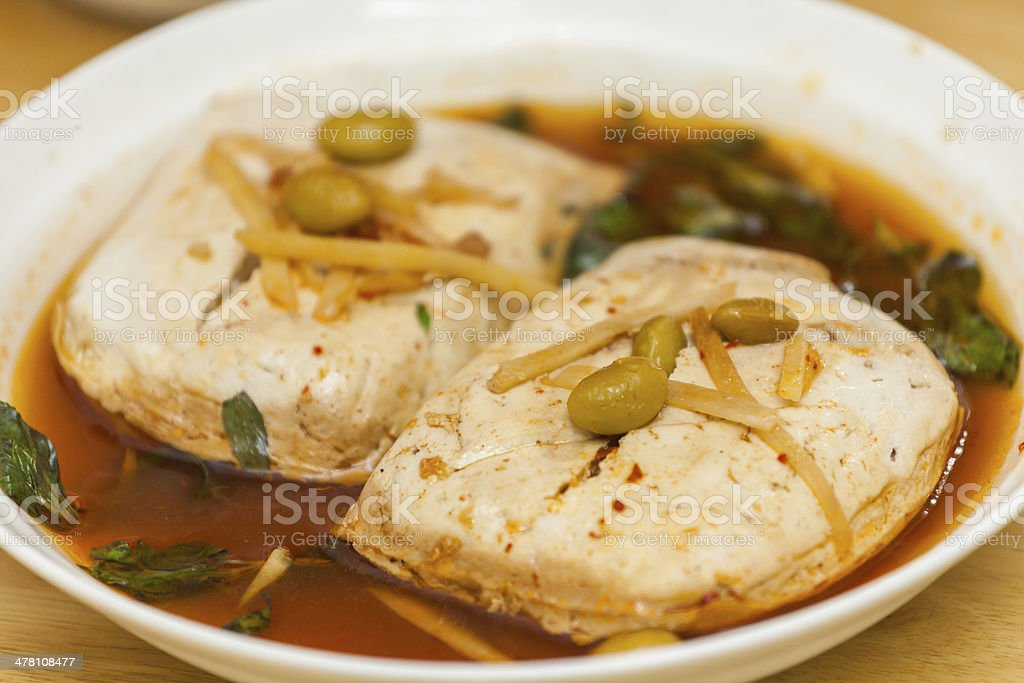Stinky tofu(???) royalty-free stock photo