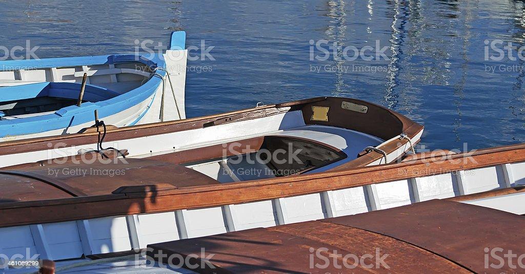 Stintino boats royalty-free stock photo
