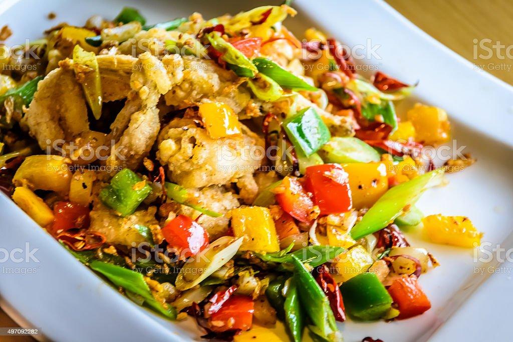 Französische küche froschschenkel  Pfannengerührte Frosch Beine Stockfoto 497092282 | iStock