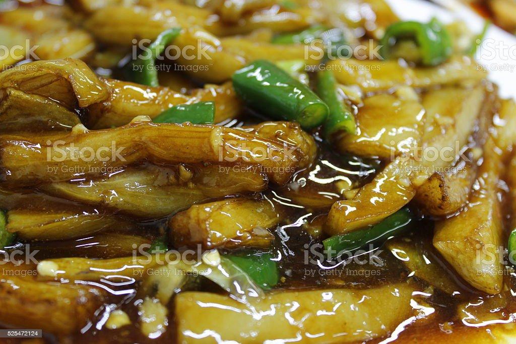 Stir Fried Vegetable stock photo