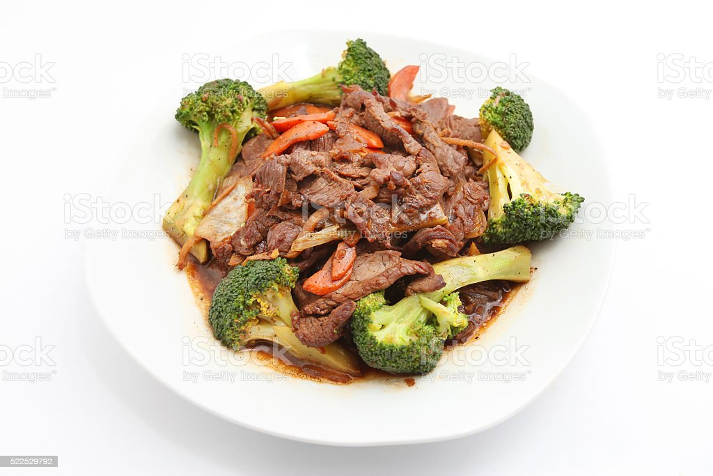 Stir Fry Beef stock photo