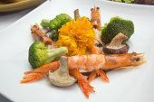 Stir fry Broccoli with shrimp
