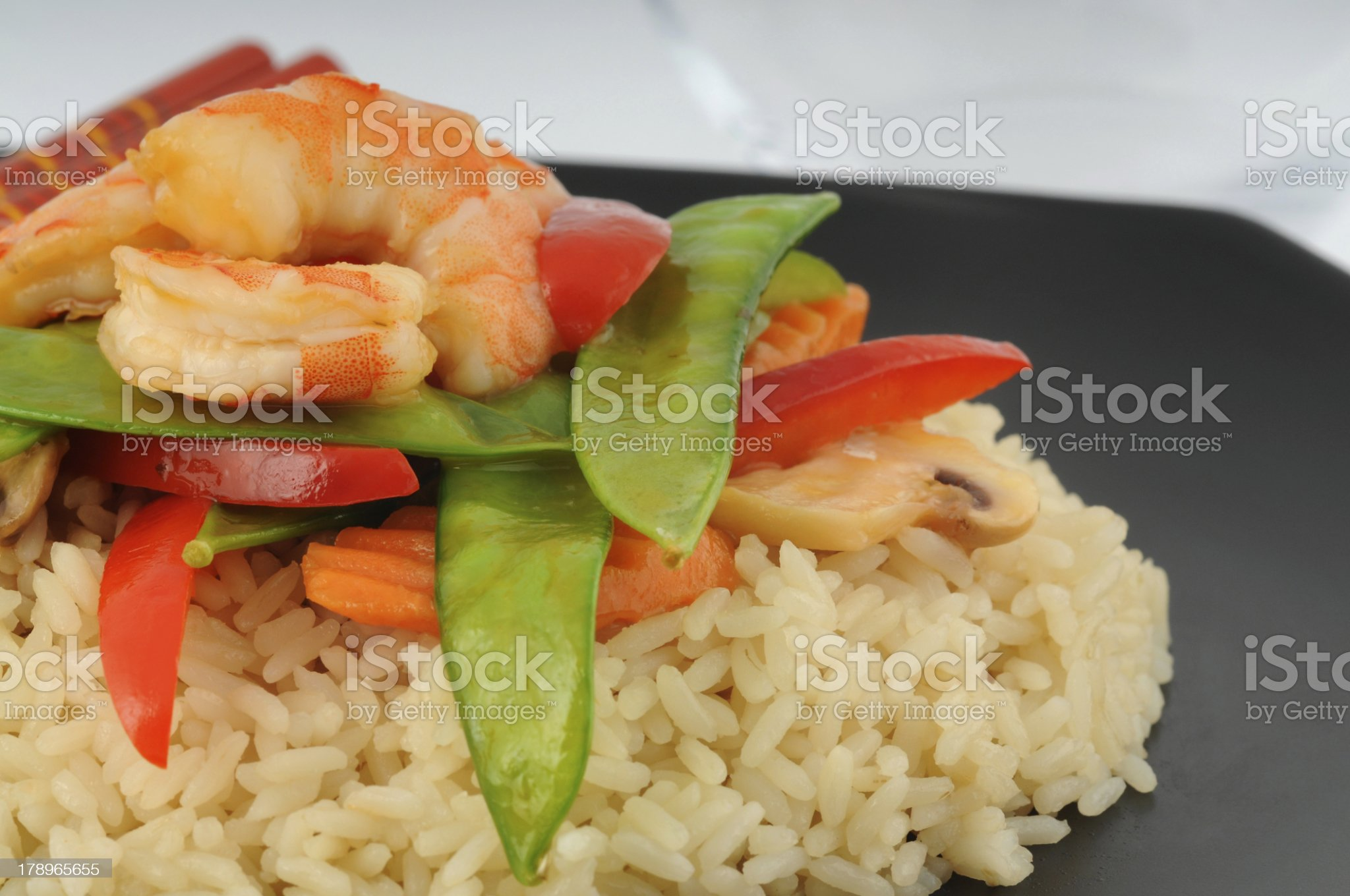 Stirfry royalty-free stock photo
