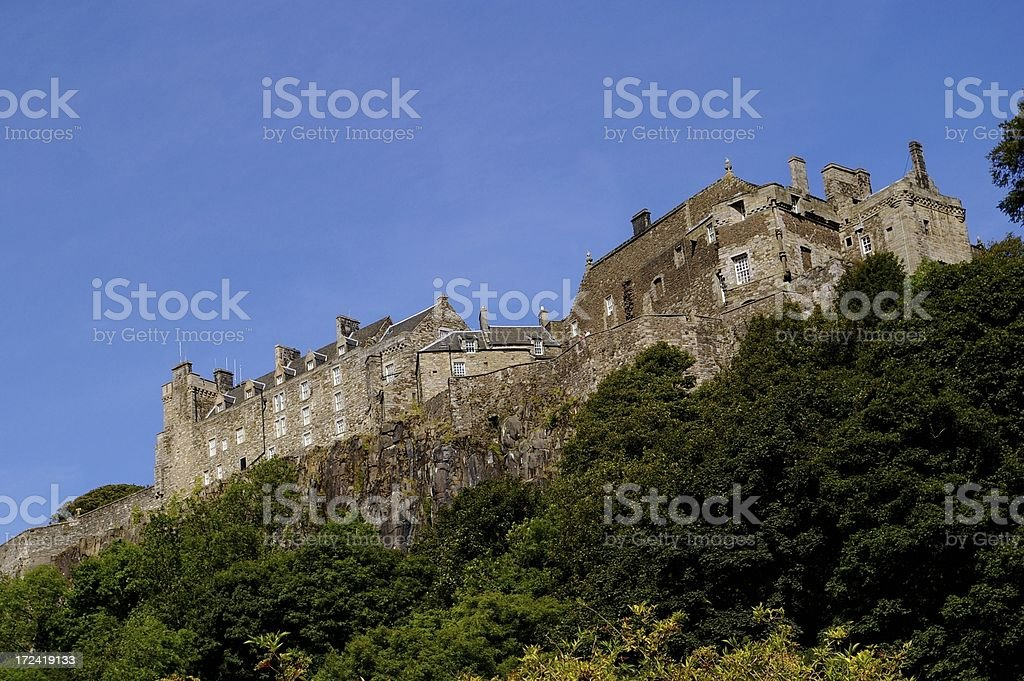 Stirling Castle Scotland stock photo