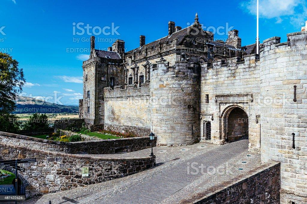 Stirling Castle,Scotland stock photo