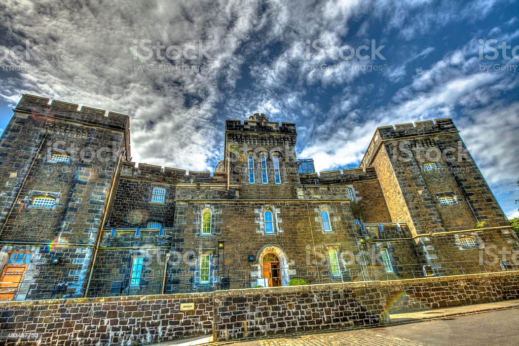 Stirling Old Jail stock photo