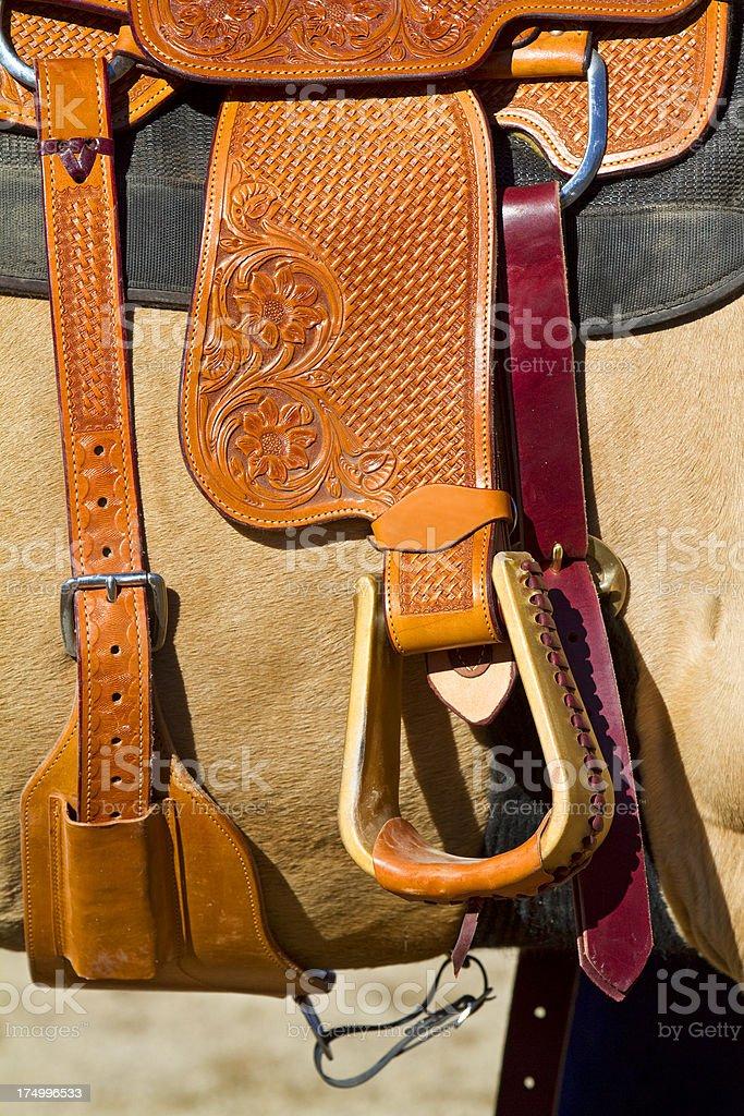 stirrup stock photo