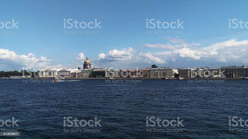 St.Isaac's Cathedral in St.Petersburg, Russia stock photo