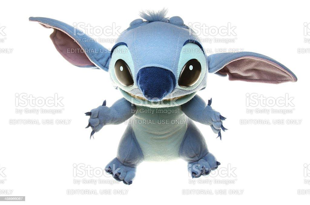 Stitch Cute Little Alien Monster stock photo