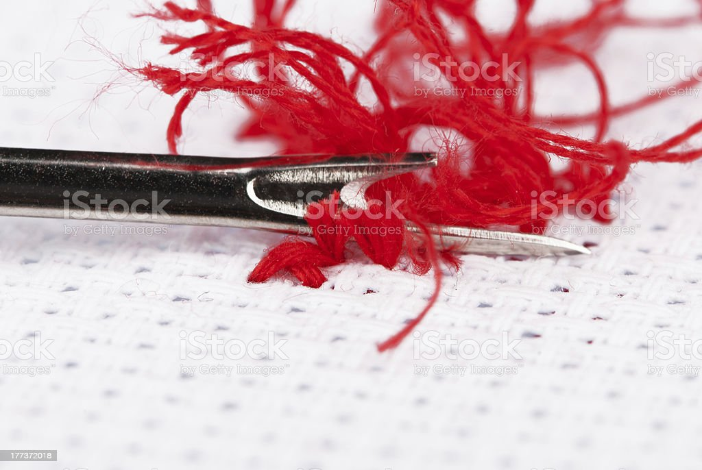 stitch ripper royalty-free stock photo