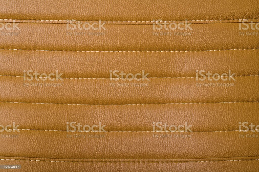stitched leather stock photo