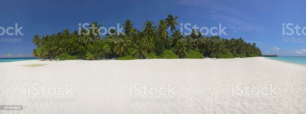 stitched panorama stock photo