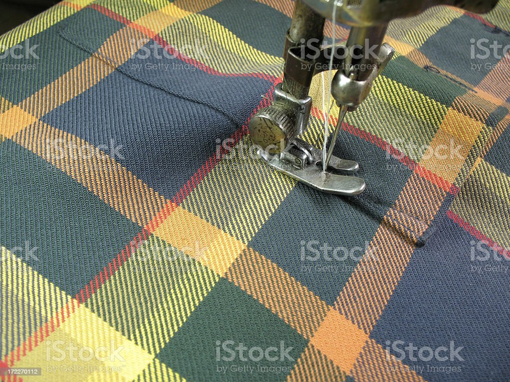 Stitching royalty-free stock photo