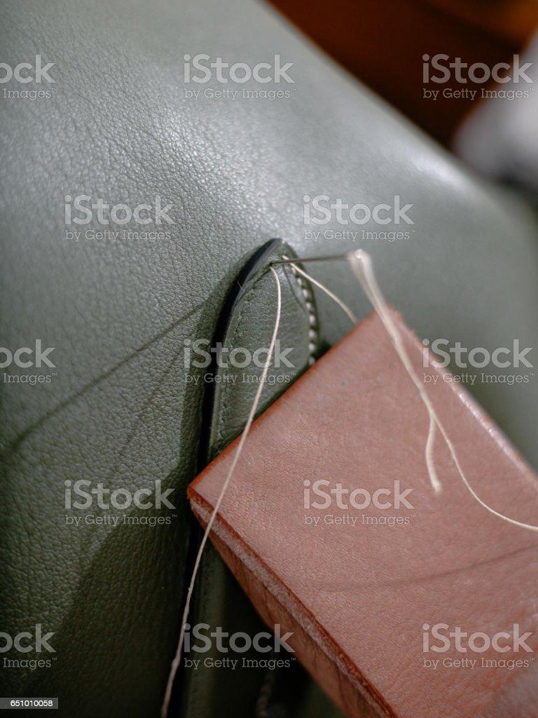 Stitching stock photo