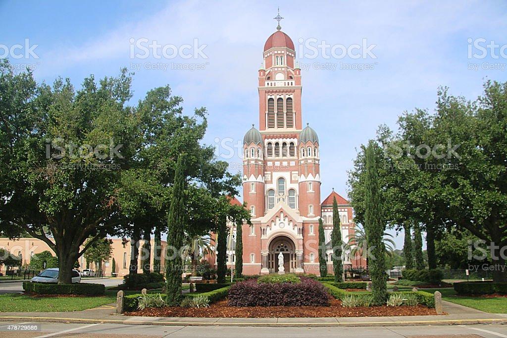 St-Johns Cathedral - Lafayette, Louisiana stock photo