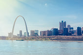 St.Louis Cityscape and Arch
