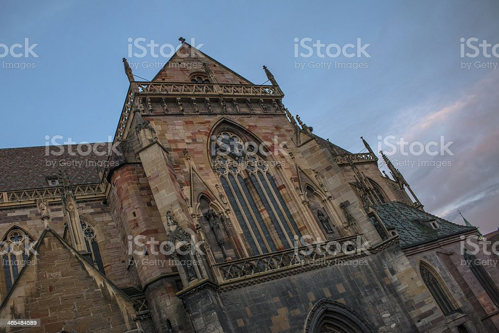 St-Martin Colmar stock photo
