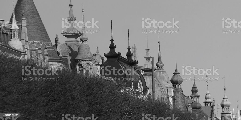 Stocholm Rooftops stock photo