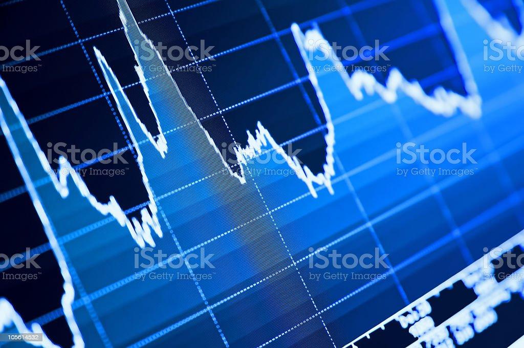 Stock Chart stock photo