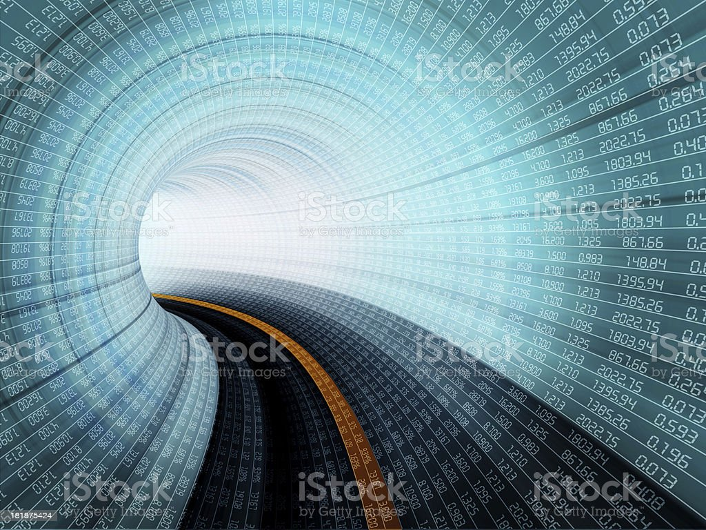 Stock concept royalty-free stock photo