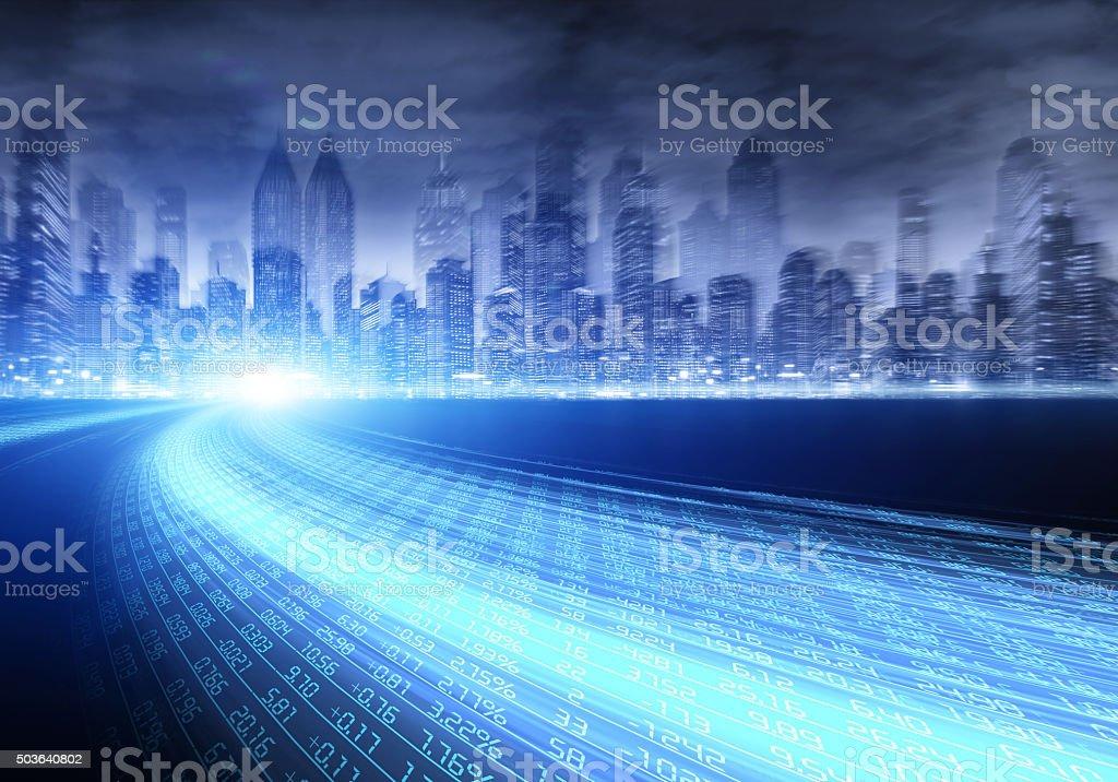 Stock  concept stock photo