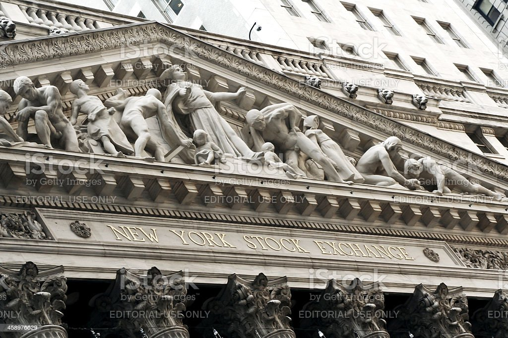 Stock Exchange New York City # 3 royalty-free stock photo