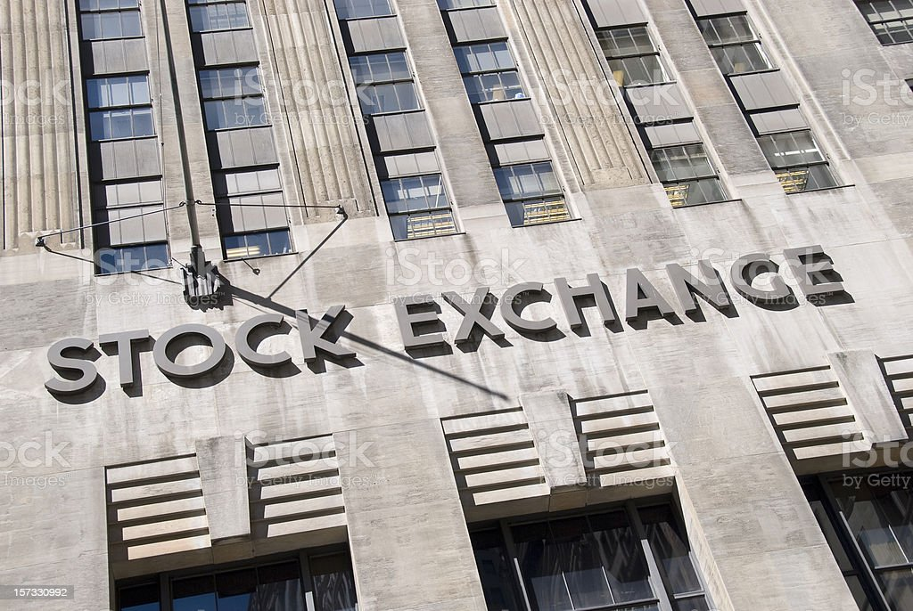 Stock Exchange royalty-free stock photo
