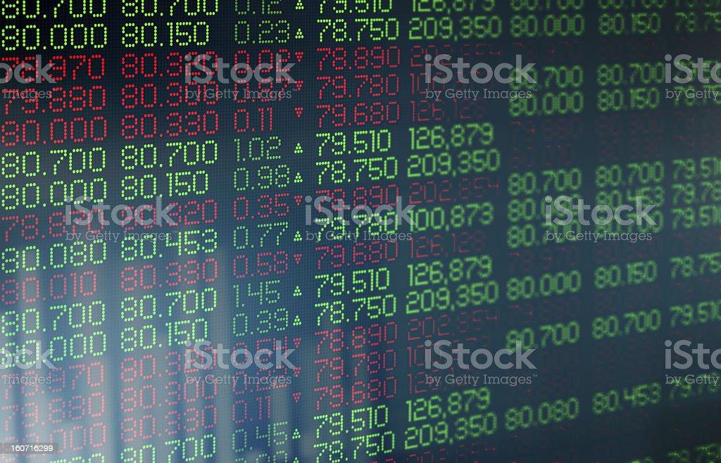Stock Exchange royalty-free stock photo
