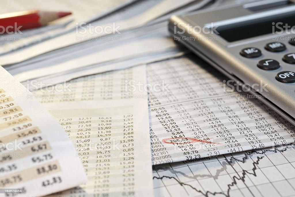 Stock exchange stock photo