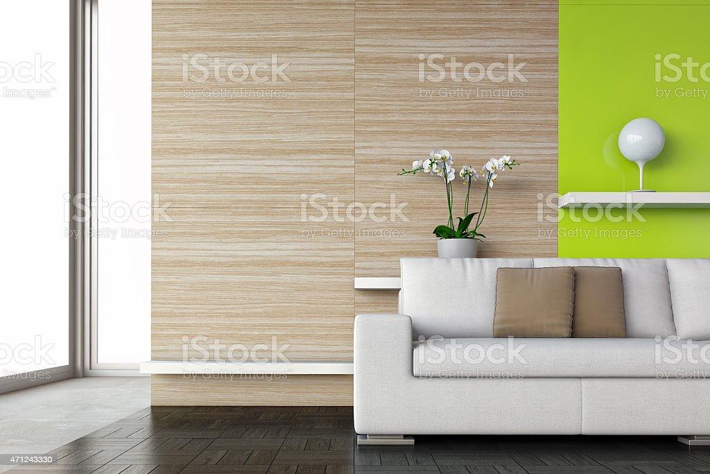 Stock image of a contemporary interior scene stock photo