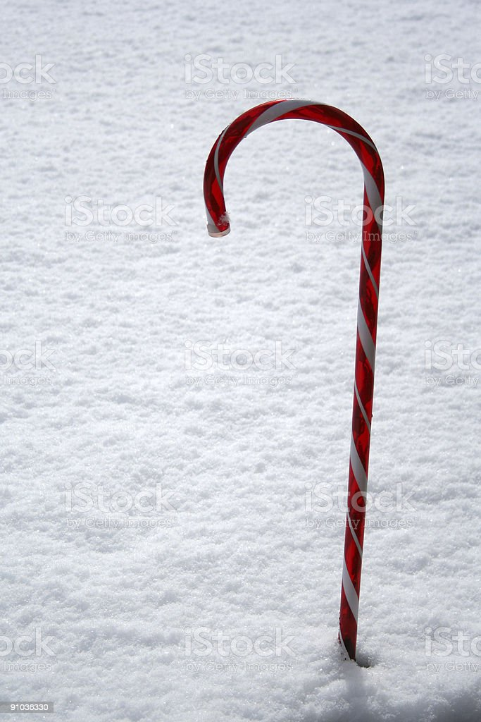 Stock image of Candy Cane royalty-free stock photo