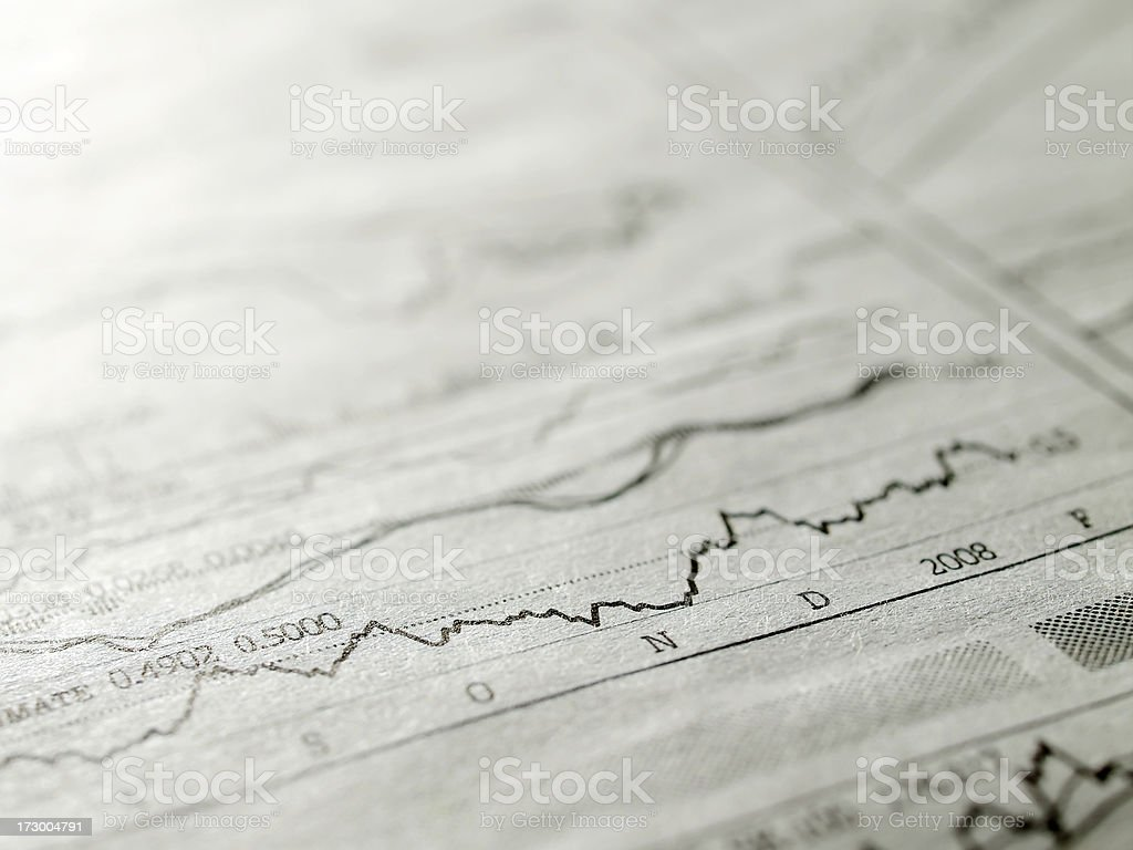 Stock indexes royalty-free stock photo