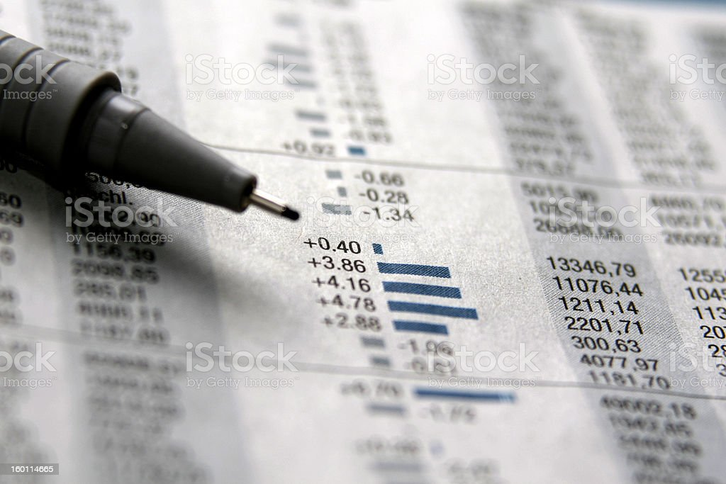stock information stock photo