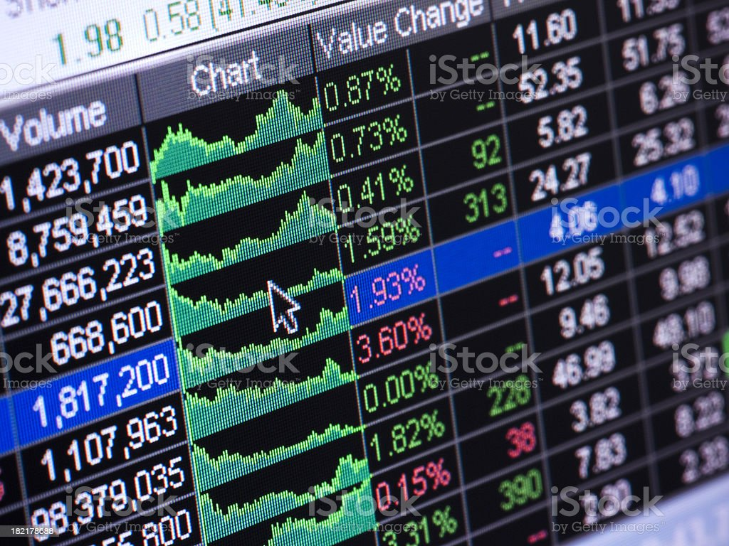 Stock Market Analysis stock photo 182178688 – Stock Market Analysis Sample