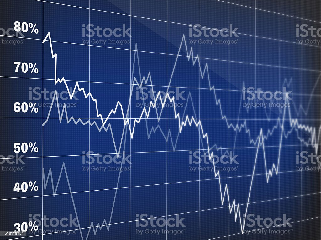 Stock market background stock photo