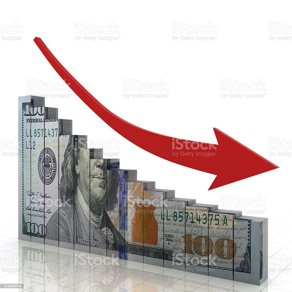 Stock market chart investment business concept stock photo